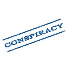 Conspiracy watermark stamp vector