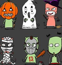 halloween character2 vector image