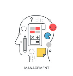 management concept vector image