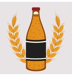 beer drink ale germany vector image