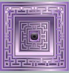 3d luxury seamless pattern greek ornamental vector