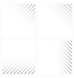Abstract background in black and white colors vector image