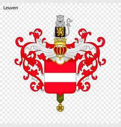 Emblem leuven vector