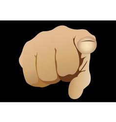 finger vector image