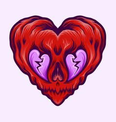 heartbreak isolated vector image