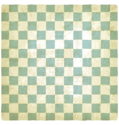 old checkered background vector image