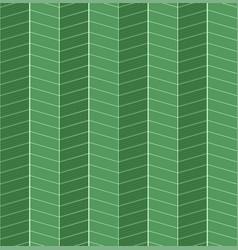 seamless green herringbone texture parquet tiles vector image
