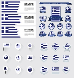 SET greece vector
