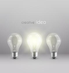 creative idea solution vector image