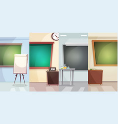 education vertical banners vector image vector image
