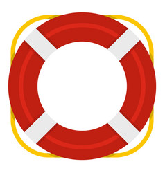lifebuoy icon isolated vector image