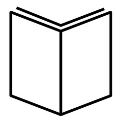 book read streamline icon vector image