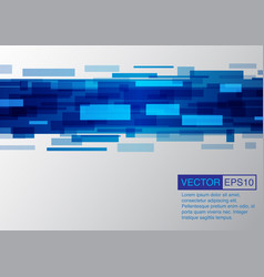 abstract blue background modern concept vector image