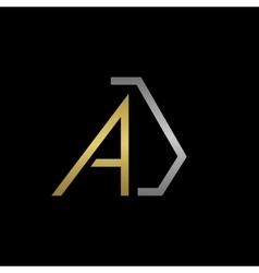 Aj letters logo vector