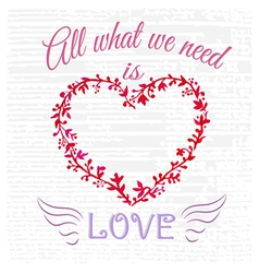 All what you need vector image