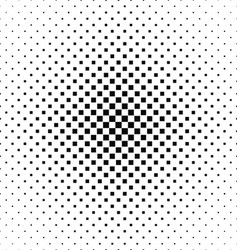 Black and white square pattern design vector image
