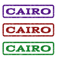 cairo watermark stamp vector image