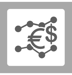 Currency Trends Icon vector image