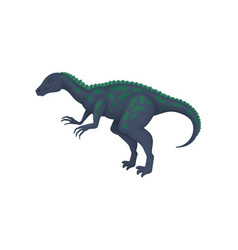 Flat design of giant ornithosuchus vector