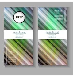 Flyer design vector