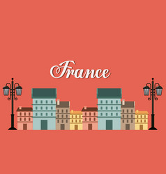 france classic place location vector image
