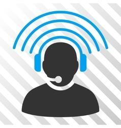 Operator Radio Signal Icon vector