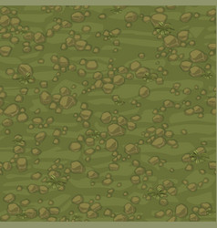 seamless texture ground with small stones vector image