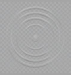 Water splash ripple waves drop surface vector