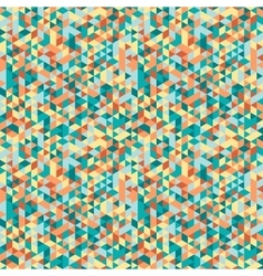geometric background seamless pattern vector image vector image