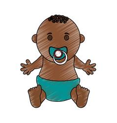 baby boy vector image vector image