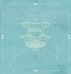 Label for restaurant menu design Element for vector image vector image