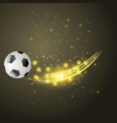 sport football icon vector image