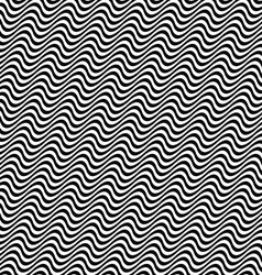3d black white angular wave pattern vector