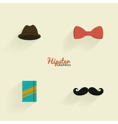 Abstract Hipster Symbols vector image