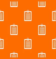 clipboard with check list pattern seamless vector image