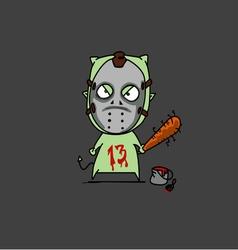 Halloween jason vector