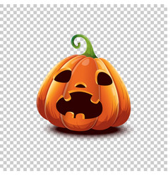 happy halloween halloween pumpkin in vector image