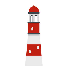 lighthouse icon isolated vector image