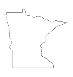 Map, Minnesota & Outline Vector Images (73)