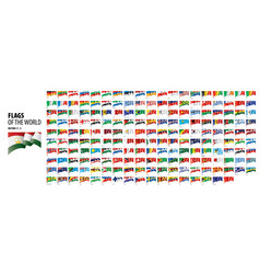 National flags countries vector