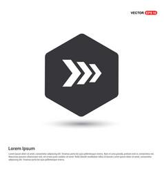 Next arrow icon vector