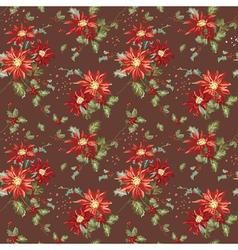Retro Christmas Seamless Background vector