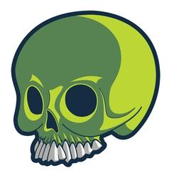 Strange skull vector