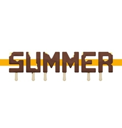 Summer Ice Cream vector