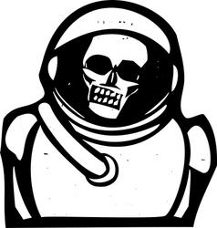 Zombie Astronaut vector