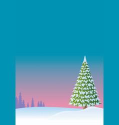 winter background 2 vector image