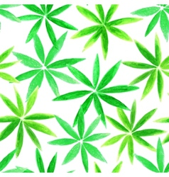 Beautifu watercolorl floral seamless pattern vector image vector image