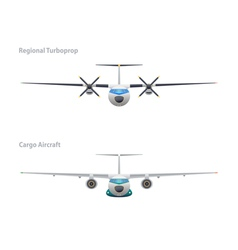 Regional turboprop and cargo aircraft vector