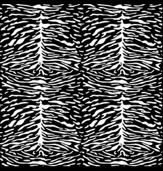 abstract animal tiger seamless pattern vector image