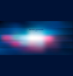 abstract blurred blue and pink with lighting vector image